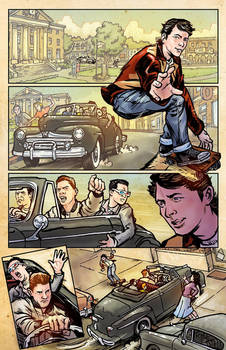Back to the Future Sample page 1