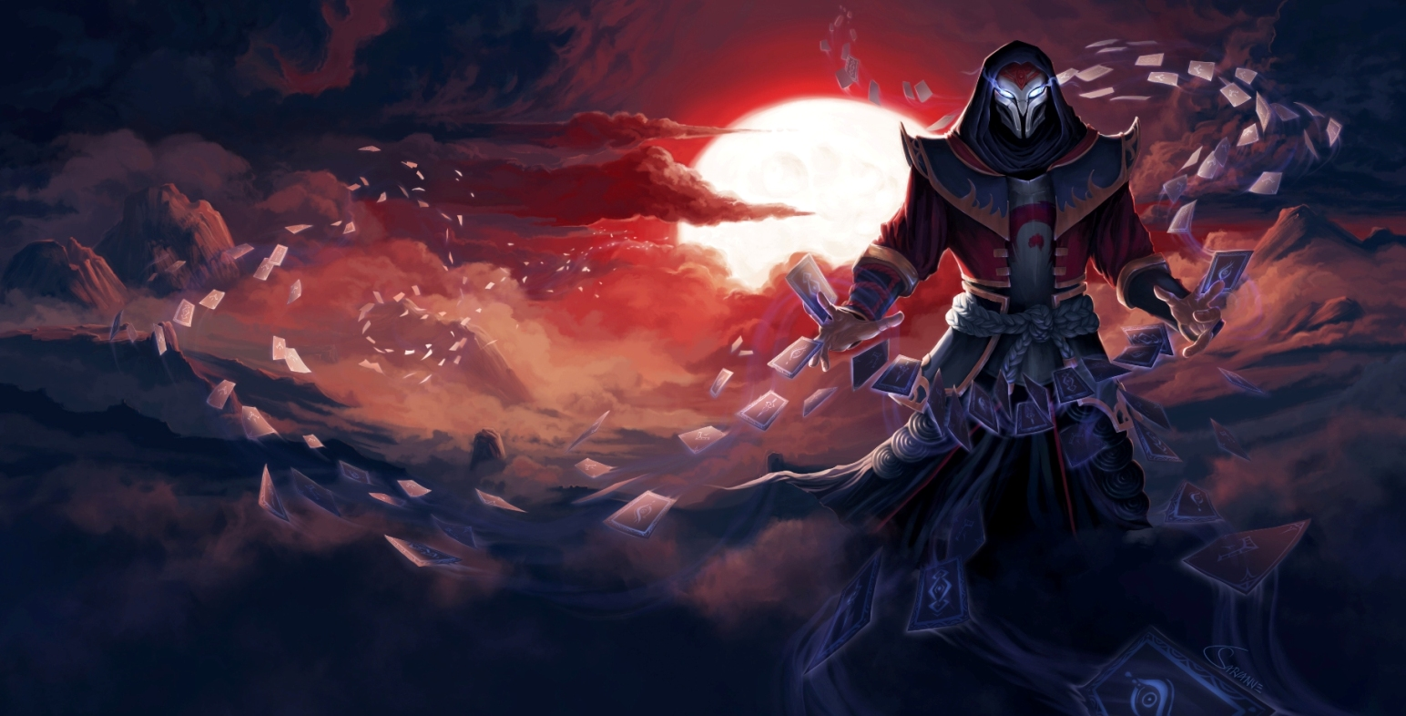 Twisted Fate On League Of Males Deviantart