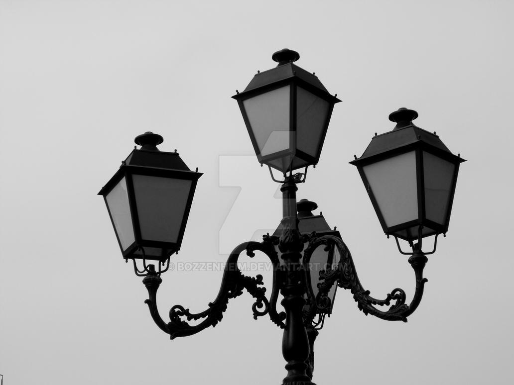 Street lamps by Bozzenheim