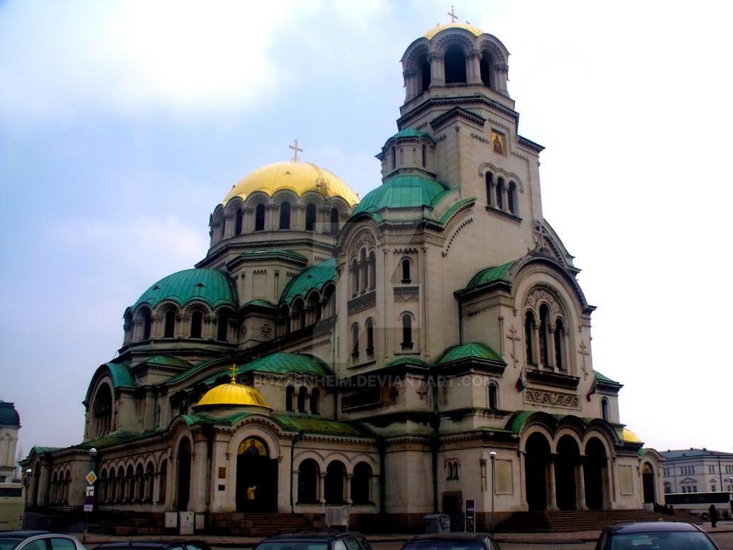 Aleksandar Nevski cathedral by Bozzenheim