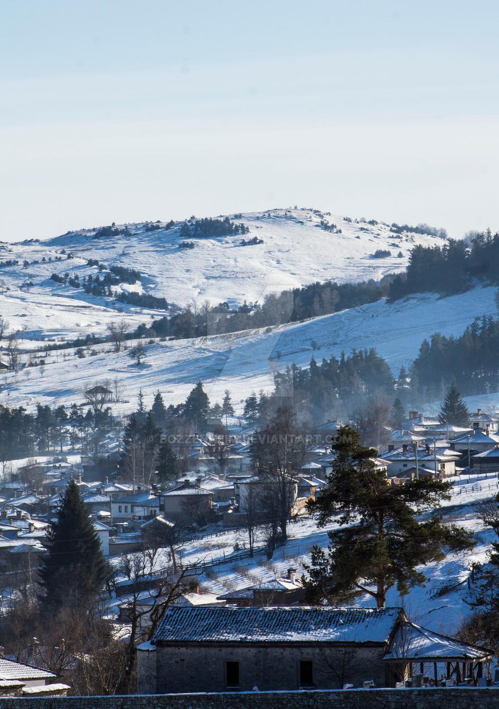Koprivshtitsa landscape by Bozzenheim