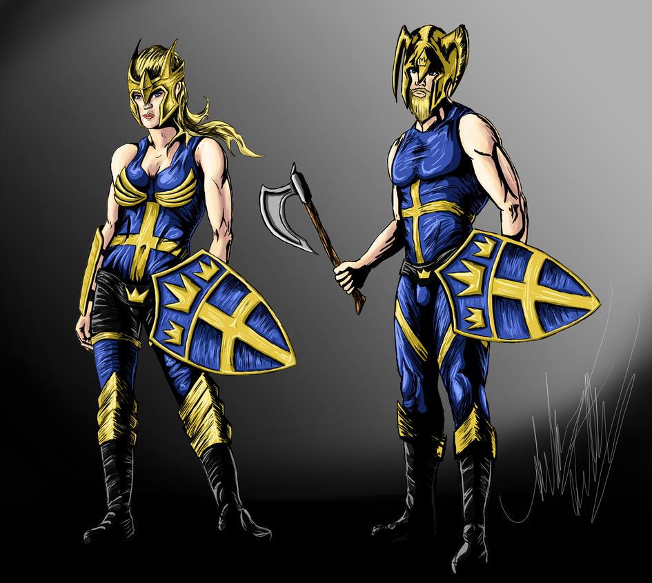 Captain Sweden by Blackidus