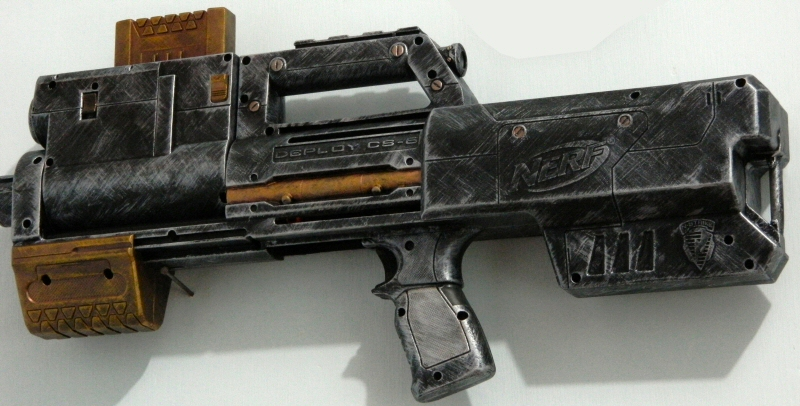 Borderlands 2 Custom Painted Nerf Recon Space Gun Cosplay LARP