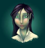 elixia - char study by Elixia-Dragmire