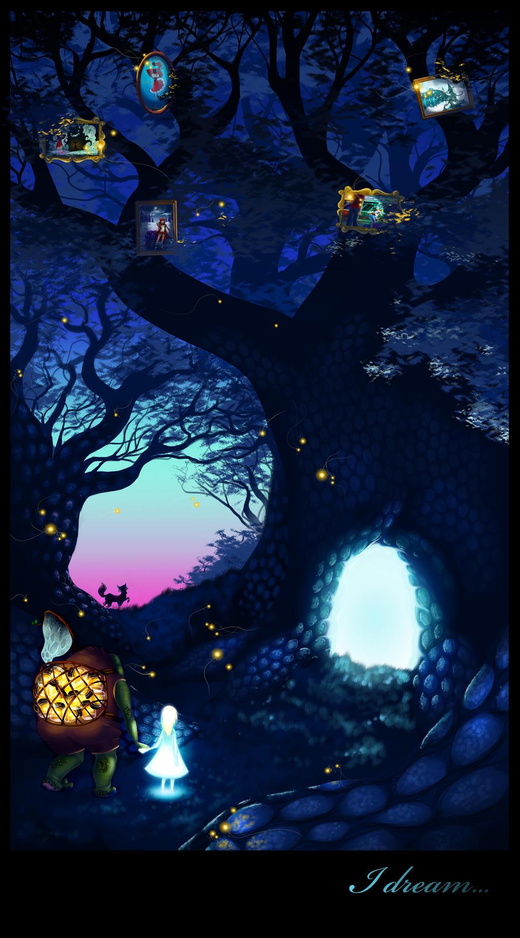 I dream ... by Elixia-Dragmire