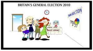Britains General Election 2010 by Elixia-Dragmire