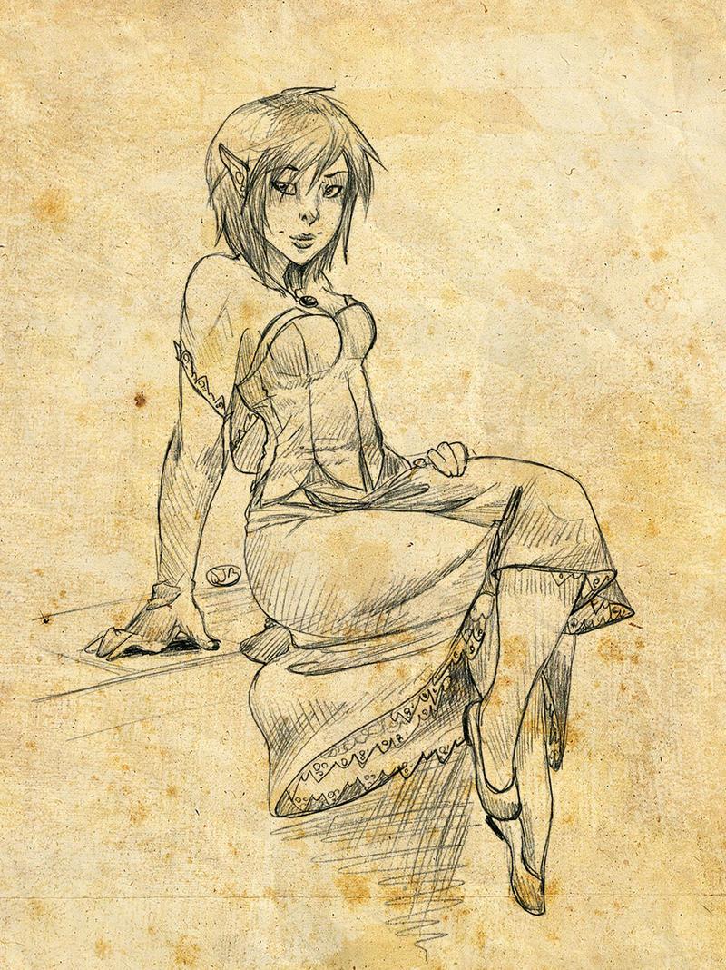 K'rena by Elixia-Dragmire
