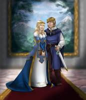 The Emperor and Empress by Elixia-Dragmire