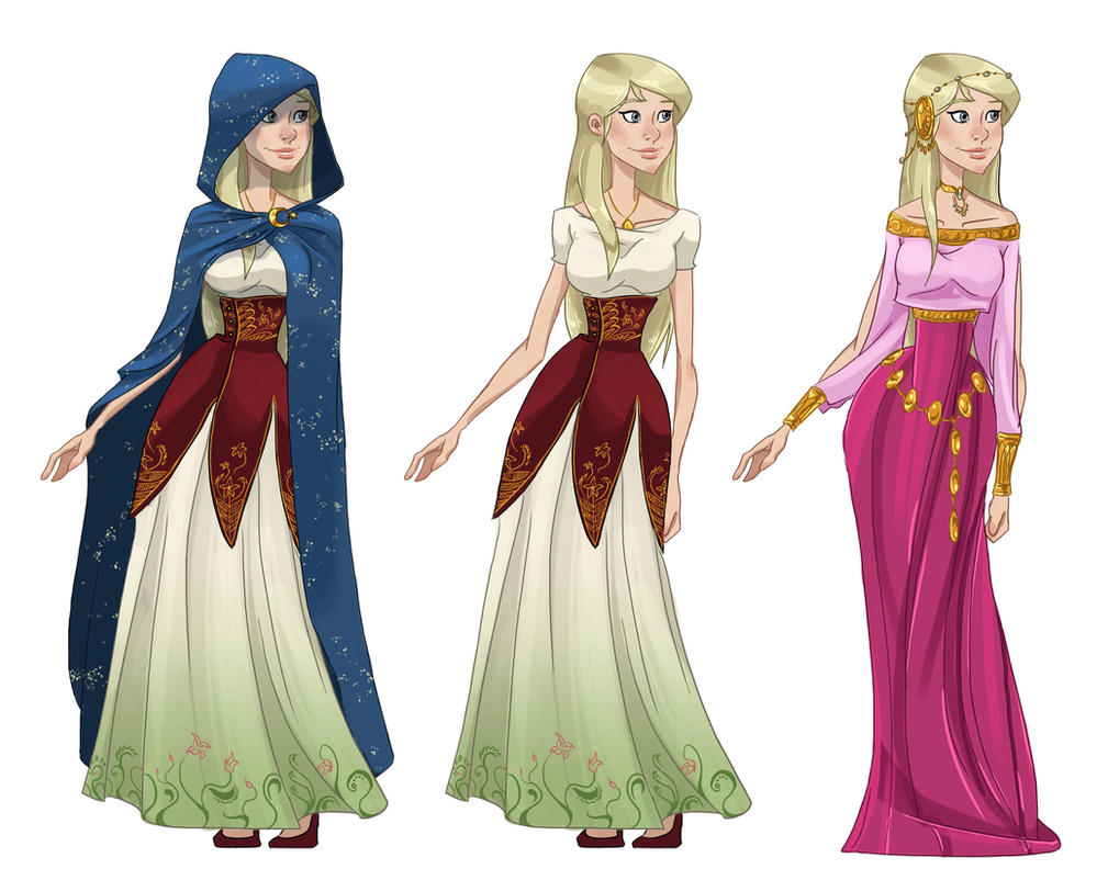 teb - outfits A by Elixia-Dragmire