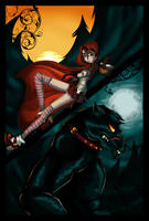 Grim Girls - Riding Hood by Elixia-Dragmire