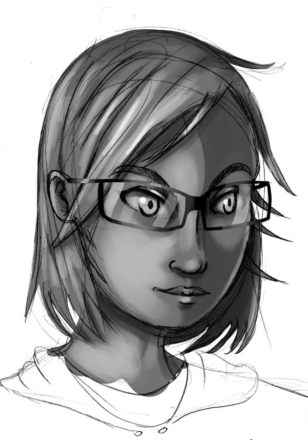 Face practise by StrangeVoices