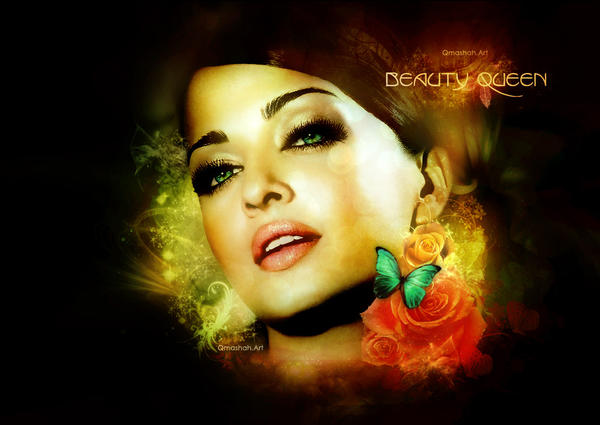 beauty aishwarya by qmashah