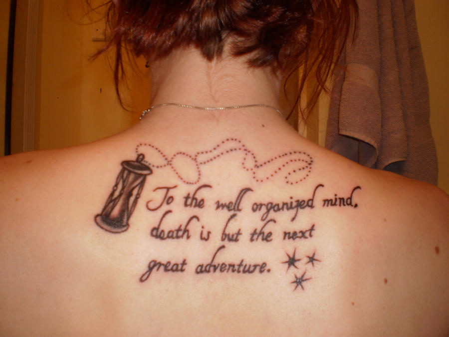 Harry Potter inspired tatto.