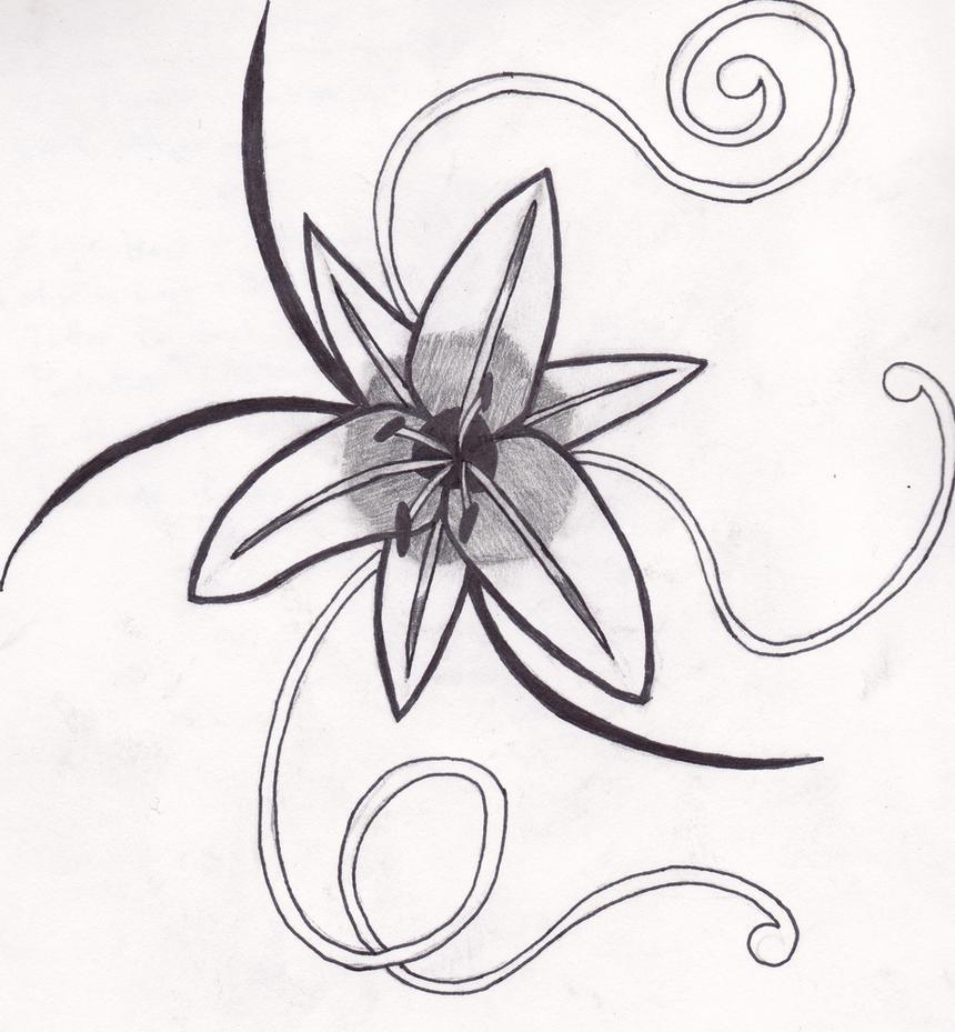 Hawthorn Flower Tattoo Flower Tattoo by Poppasmurf