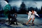 Light N Dark - The Huntress Challenge by krazyemomom