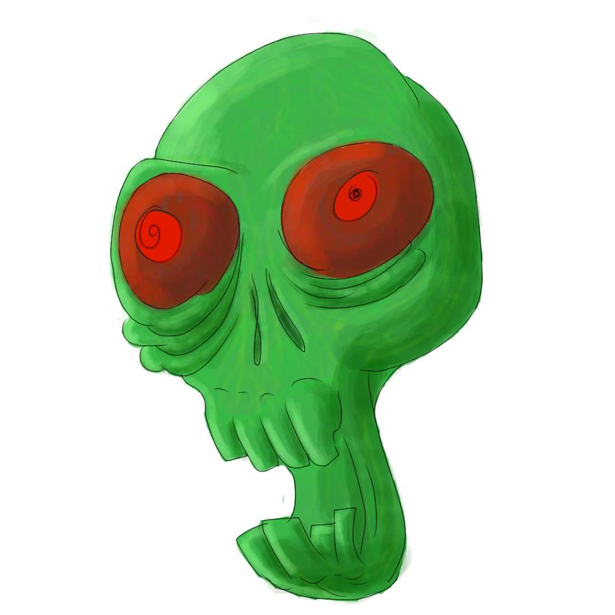 Alien Zombie Dude by Koncur