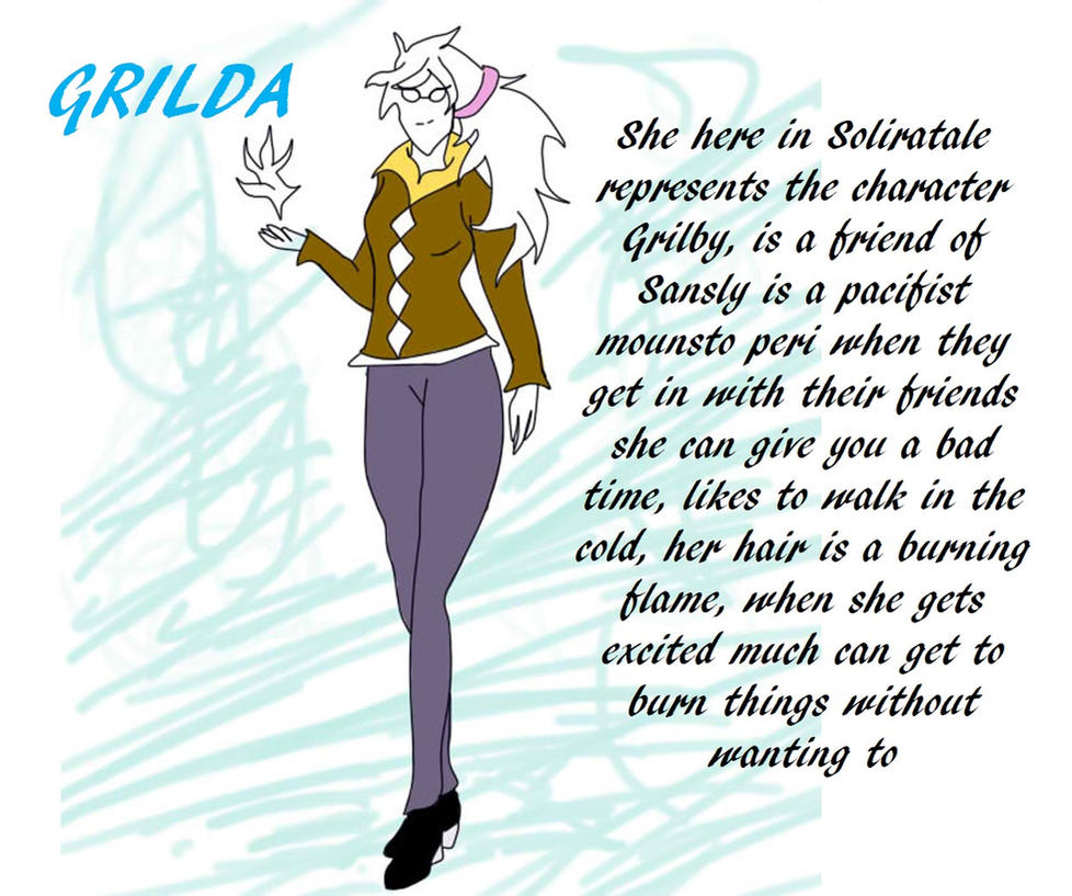 Grilda-Soliratale-personajeGrilby-BY-SHIBA1990- IN by Shiba1990