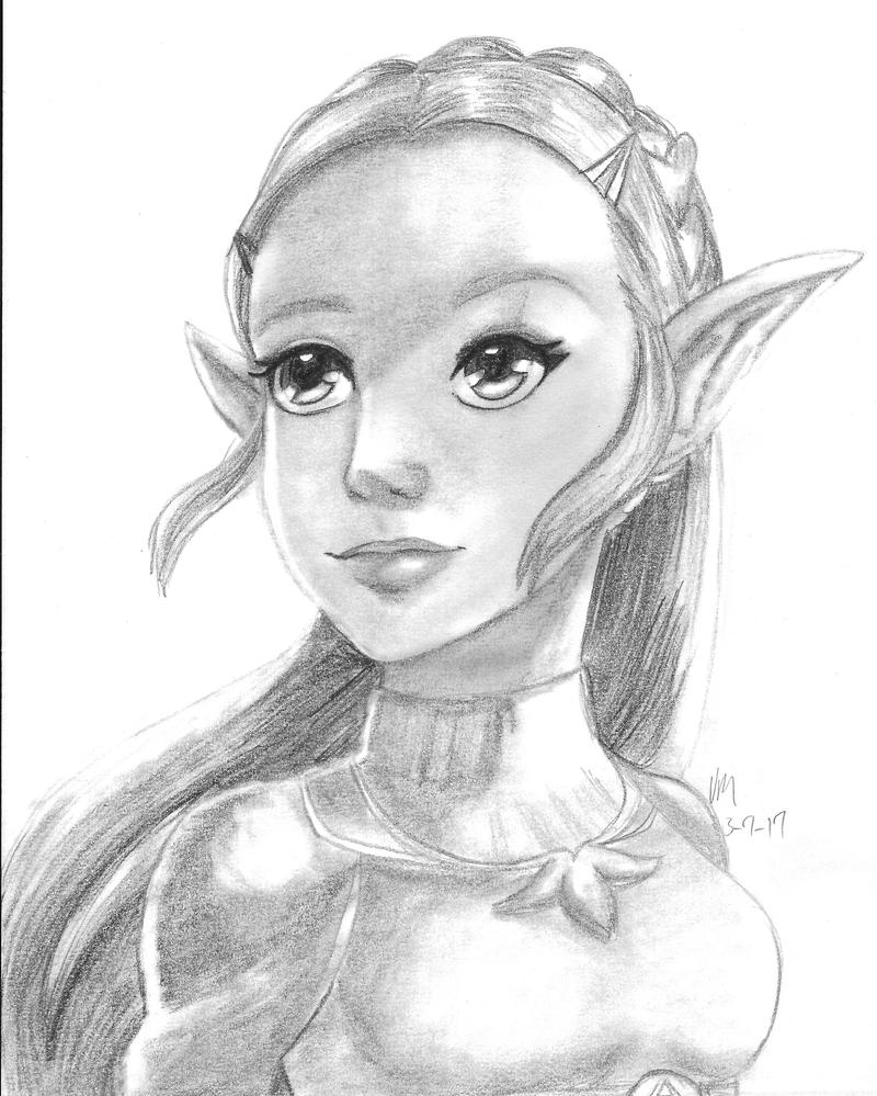 Zelda by amayavanada