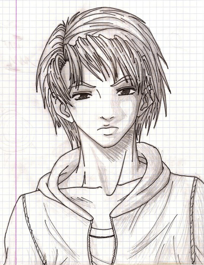 Brothers Drawing Anime Boy By Angelxdarkx On Deviantart Boy And Anime Drawing
