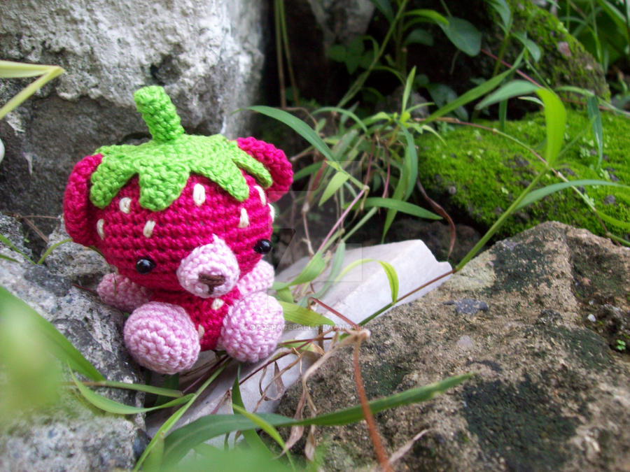 StrawberryBear3 by oddSpaceball
