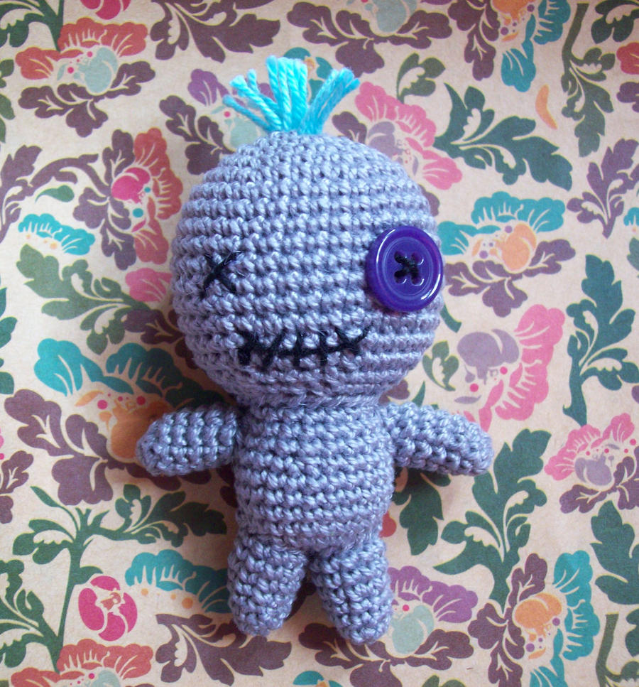 Crochet a Cute Voodoo Doll Amigurumi … Just In Time For Halloween ... | 967x900