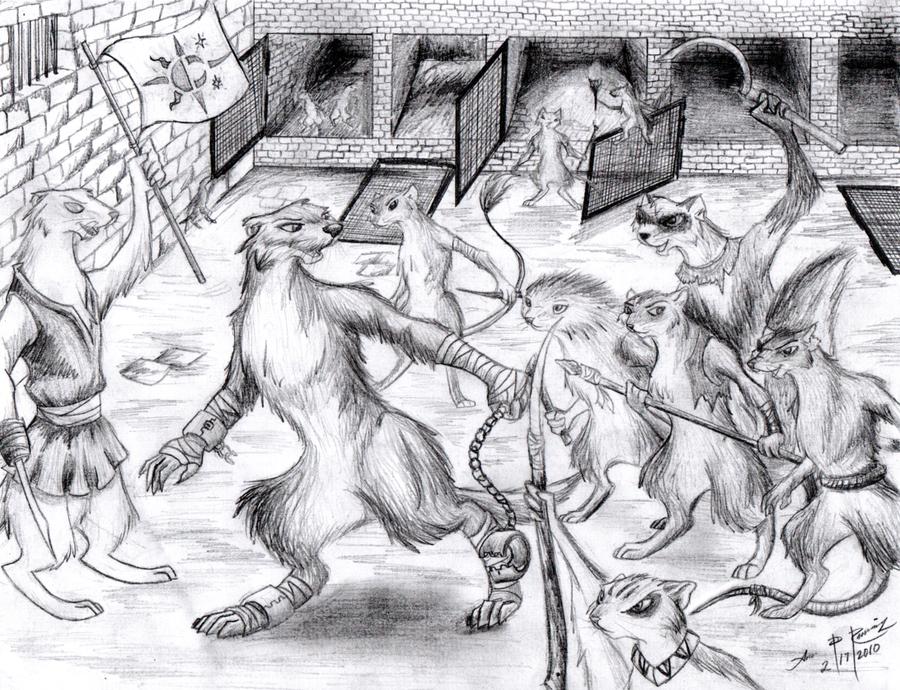 A Slave's Escape-illustration by 1-Renaissance