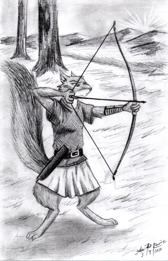 last arrow, last sunset by 1-Renaissance