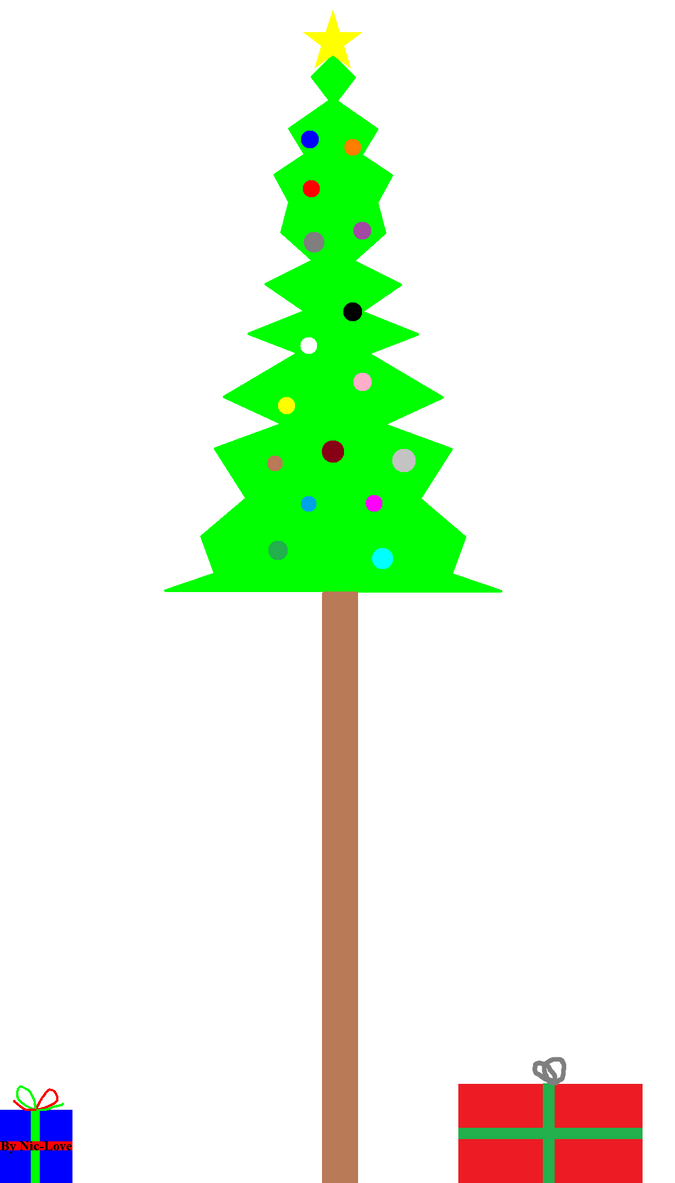 Christmas Tree 2013 By Niclove By Swordsparks On Deviantart