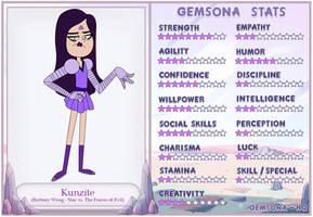 Human-Gem Hybrid: Brittney Wong - Kunzite by SwordSparks