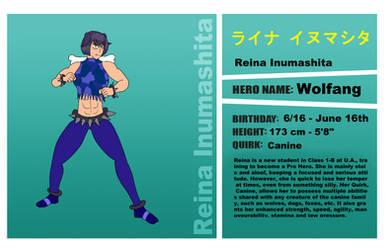BNHA - Reina Profile by SwordSparks