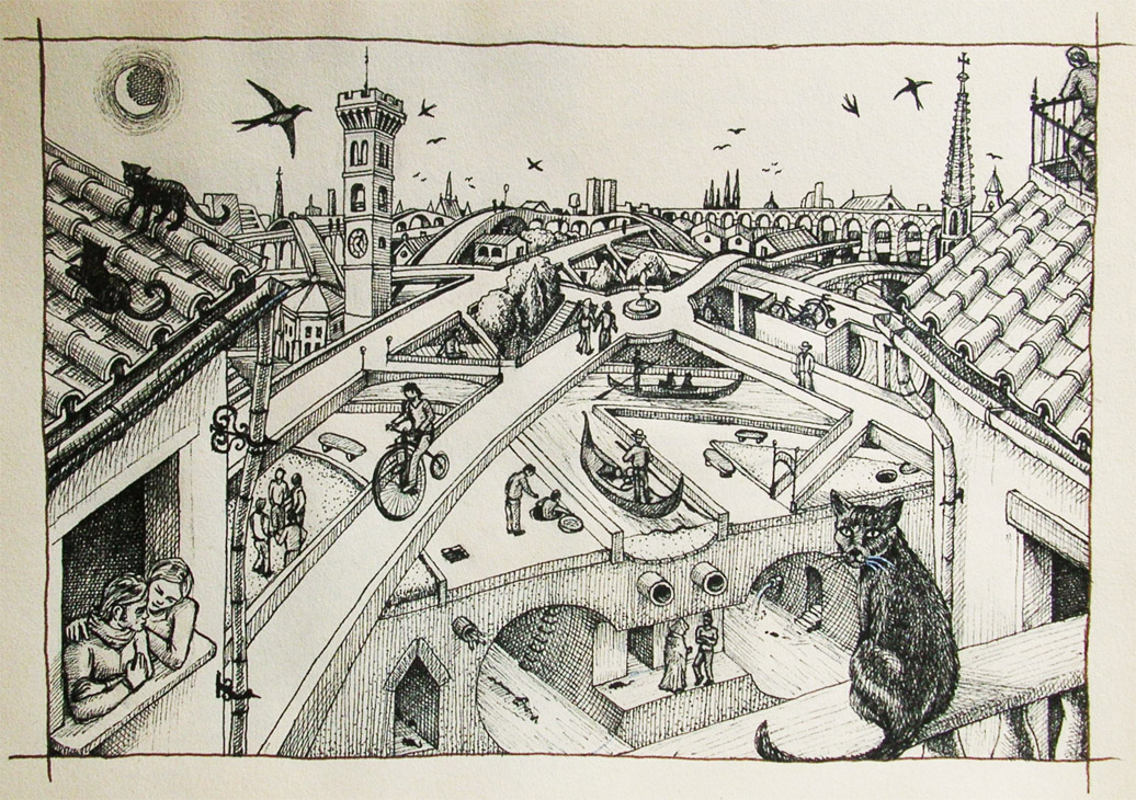Smeraldina the imaginary city by Panaiotis