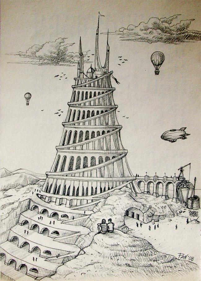 Tower of Babel by Panaiotis