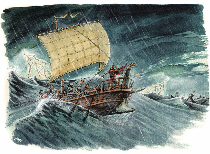 Ancient Navigation by Panaiotis