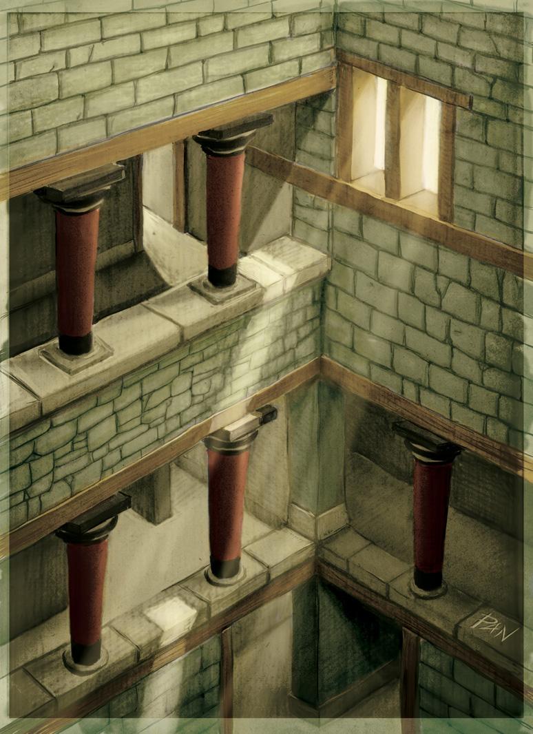 Labyrinth of Knossos by Panaiotis
