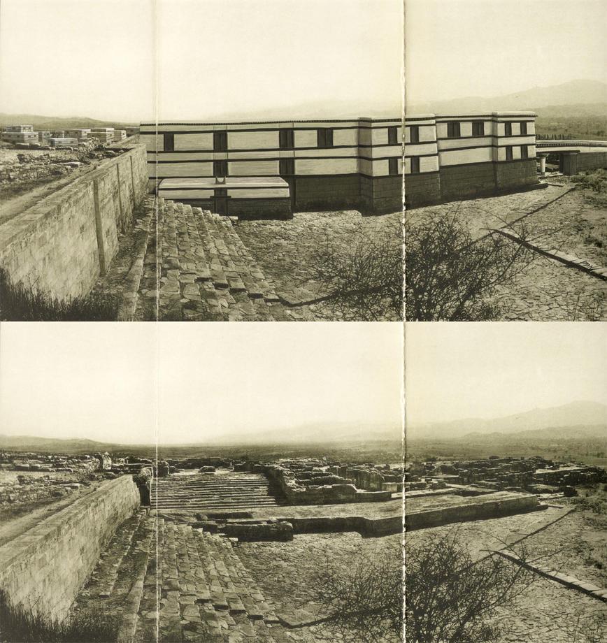 Phaistos Protopalatial (recostruction) by Panaiotis