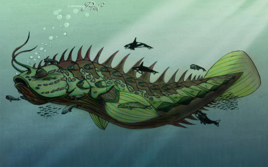 The Great Leviathan by Panaiotis