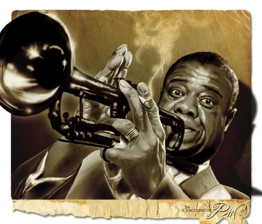 Louis Armstrong by Panaiotis