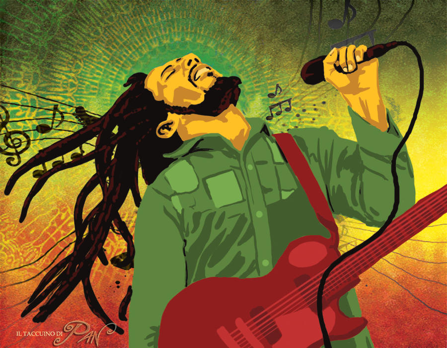 Bob Marley by Panaiotis