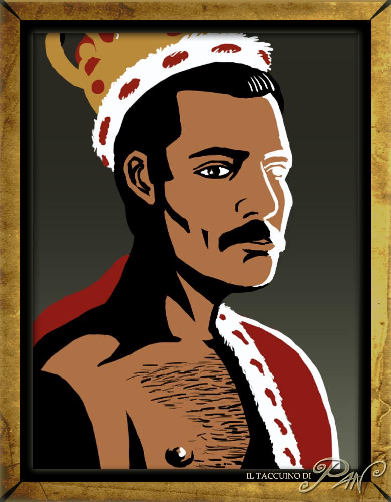 Freddie Mercury by Panaiotis