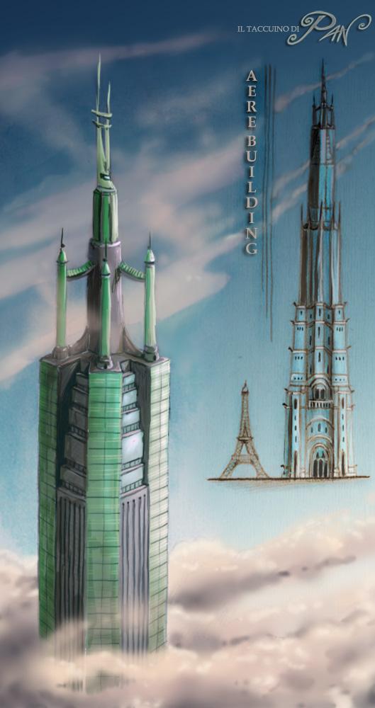Grattacielo alto quasi un miglio by Panaiotis