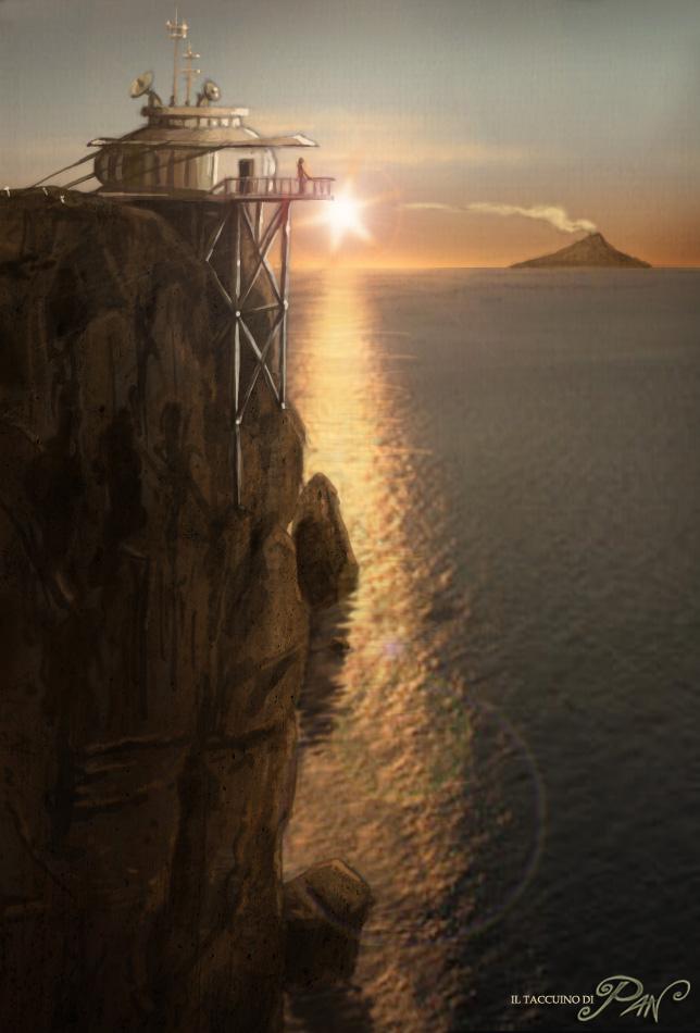 Radio-Faro a Capo Nord by Panaiotis