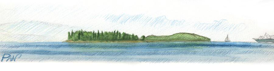 Watercolor Greece by Panaiotis