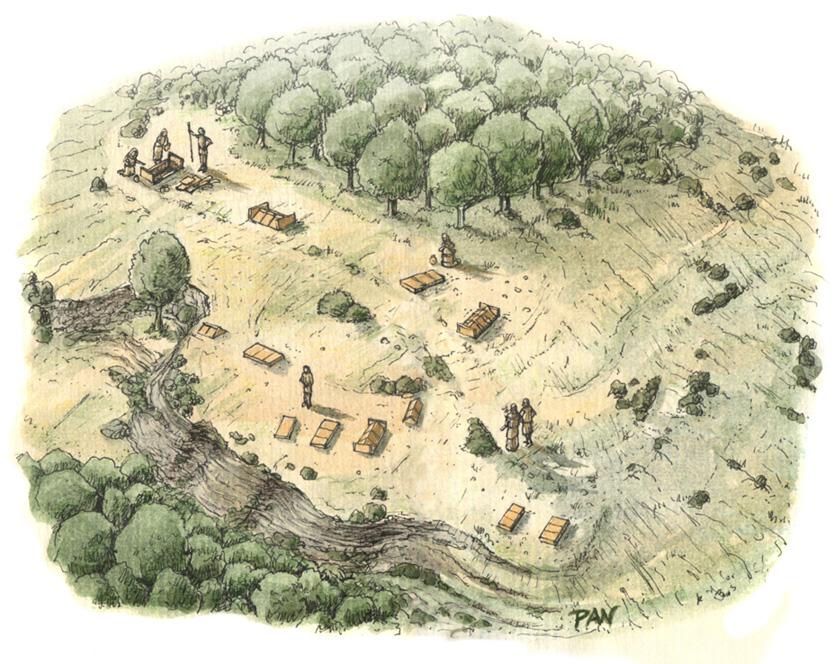Brettian necropolis of Treselle by Panaiotis