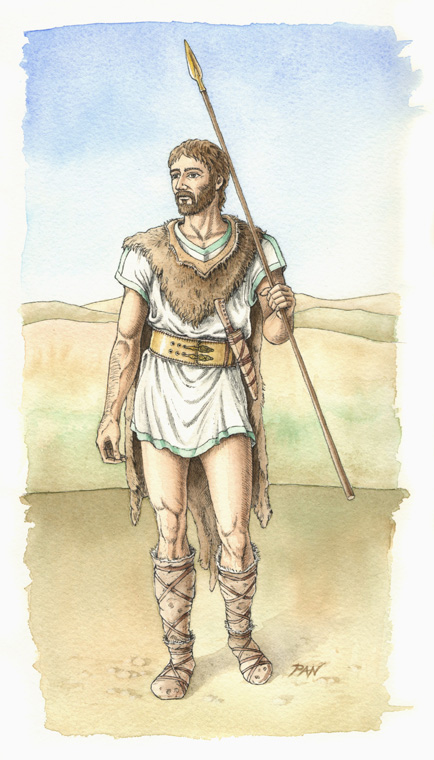 Reconstruction of the Warrior/Hunter Brettiian by Panaiotis