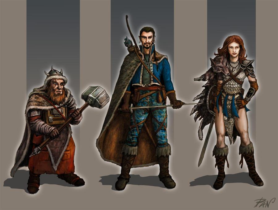Character Design Fantasy by Panaiotis