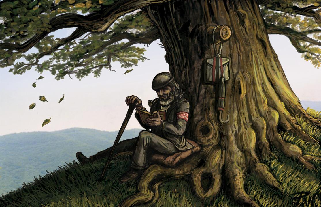 Warden of Major Oak by Panaiotis