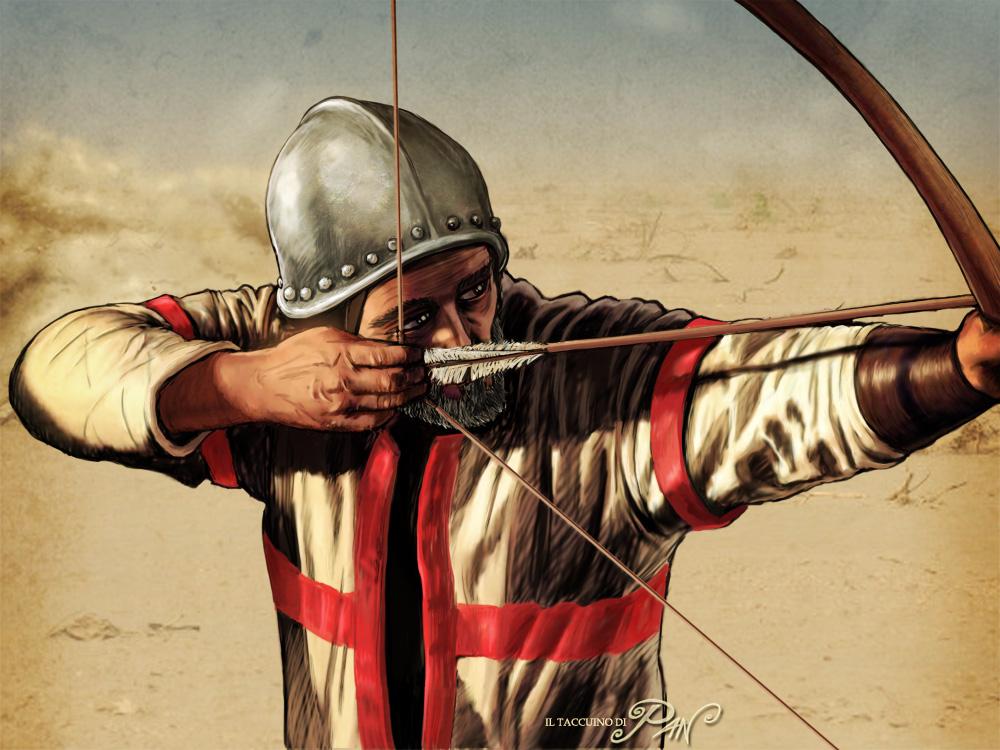 Crusader Bowman by Panaiotis