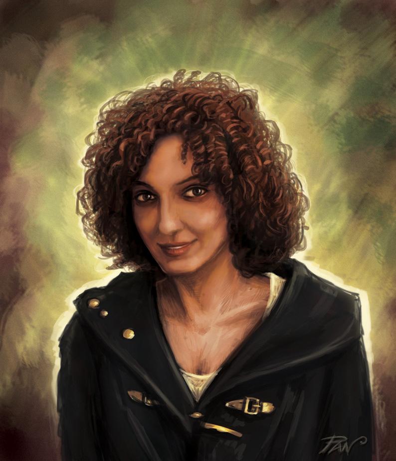 Portrait of Carla by Panaiotis