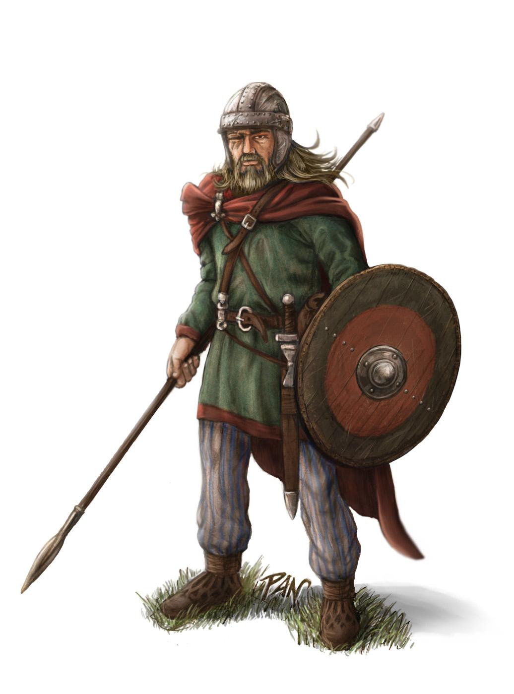 Visigoth Warrior by Panaiotis