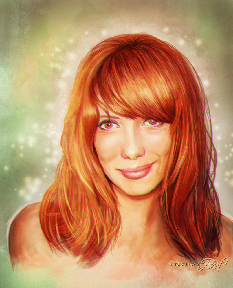Portrait of Paula Bonet by Panaiotis